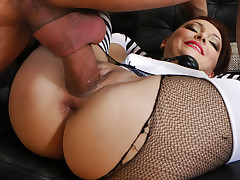 Sexy Russian Slut Gets Omar's Fat Cock In Her Big Asshole