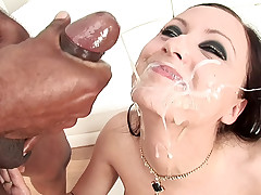 Bunch of hot babes being enjoying having tons of facials !