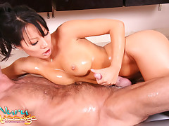 Asa Akira has just the trick to take care of Marco's pain ;)