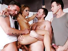 Stripper Nikki Doing Extra Hours, Doing DP For More Money!