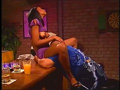 Monica gets her booty tapped by local homeboy