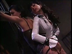 Lots Of Sore Booties In Lesbian Domination