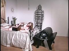 Blond Mistresses Deliver Insane Spanking