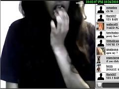 Sexy German teen showing on webcam