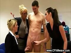 Naughty student needs sexy dicipline from slutty teachers