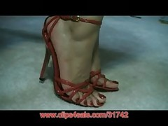 Amatuer Foot Model Candy