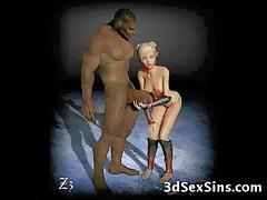 Demons Fucking 3D Babes!