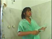 Brazilian Girl - Amazing brazilian maid big hot ass