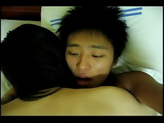 Pretty Hottie Korean Chick Fucked By BF