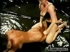 Veronica Zemanova And Sydney Moon - Oil Wrestling 2