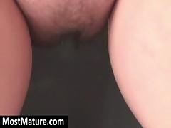 Shower MILF masturbate twat