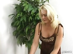 CFNM - Two girls massage a disgusting substance addict