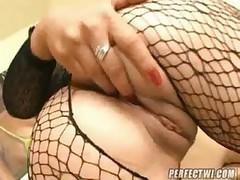 Sexy Brunette Sandra Brown Sucks A Fat Dick