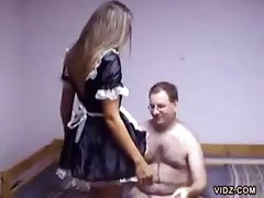 Sexy Maid Gives Her Full Service