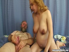 Pregnant Fucked By An Oldie