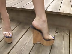 cork wedges fuck and cum