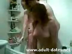 Bathroom Gangbang