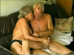 Old &amp- Young Couple meet to fuck