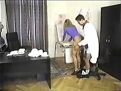 Deep anal hardcore fuck with a blonde