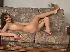 Skinny Girl Shows Her Body