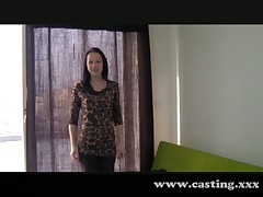 Casting - Skinny emo chick loves it in the ass