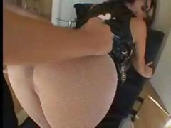 Spanish Babe Takes It In The Ass