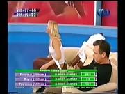 Russian girl Lera striptease