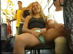 Shorts aside on public bus