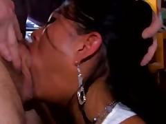 Colombiana Yoha Galvez deepthroat