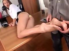 Cindy foot job