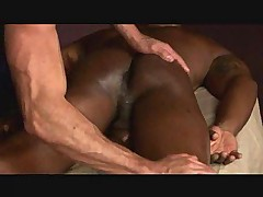 Black guy massaged and blown by gay masseuse
