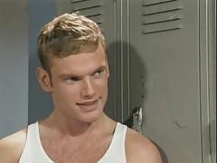 Gay locker room sex