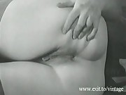 Vintage Masturbation Housewife in 1947