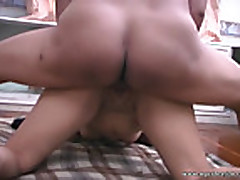 Cute Asian rides my dick so well!