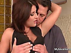 Sexy European slut Bellina loves getting fucked hard