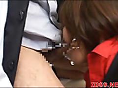Mosaic: Japanese AV Model sucking