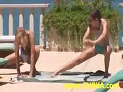 Workout In Panties Fun