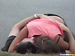 Voyeur Tapes A Couple Having Sex In Public