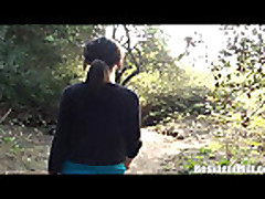 Milf fucked in the woods