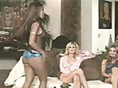 Aurora Snow and Phoenix Ray with Teanna Kai