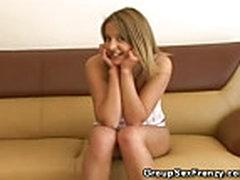 Blonde Teen Dped
