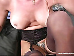 Hot whore get anal fuck and facial cum