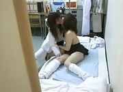 Schoolgirl seduced by female Doctor 2