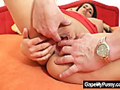 Czech babe Melissa Rio kinky pussy gaping