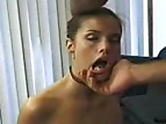 Girl gets a real rough treatment