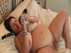 Stuffing my wet panties up my wet pussy