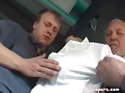 Brunette groped on bus and fucked (2 of 4)